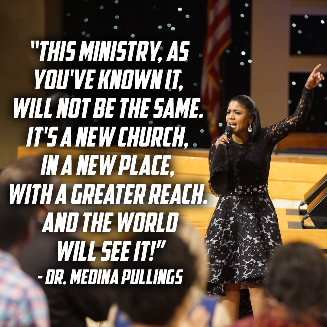 """You have more than natural life in you right now. You have overwhelming, resurrection life in you. You have power, peace and joy!"" – Dr. Medina Pullings"