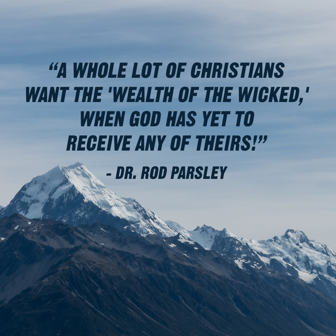 """The ministry that you serve is the ministry you have a right to receive from!"" – Dr. Rod Parsley"