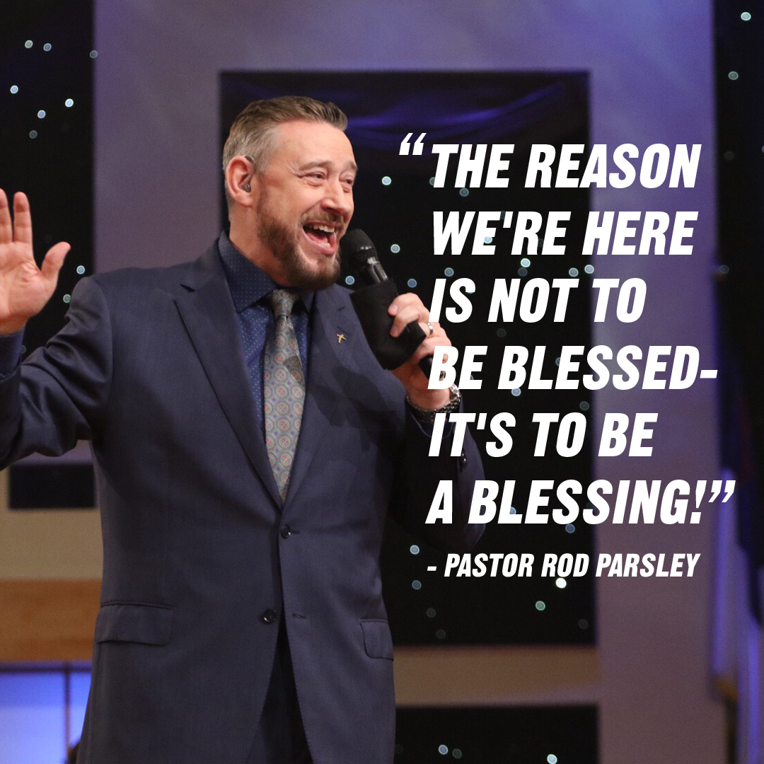 """You and I have a commission, to reach our community for the Gospel. But to accomplish that commission, we have to be committed to unity."" – Pastor Rod Parsley"