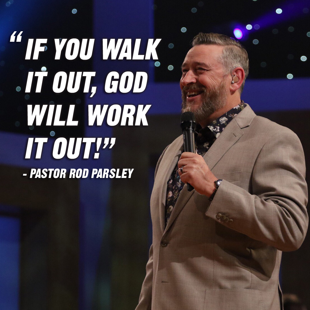"""Receiving from God is just as much a part of prayer as asking."" – Pastor Rod Parsley"