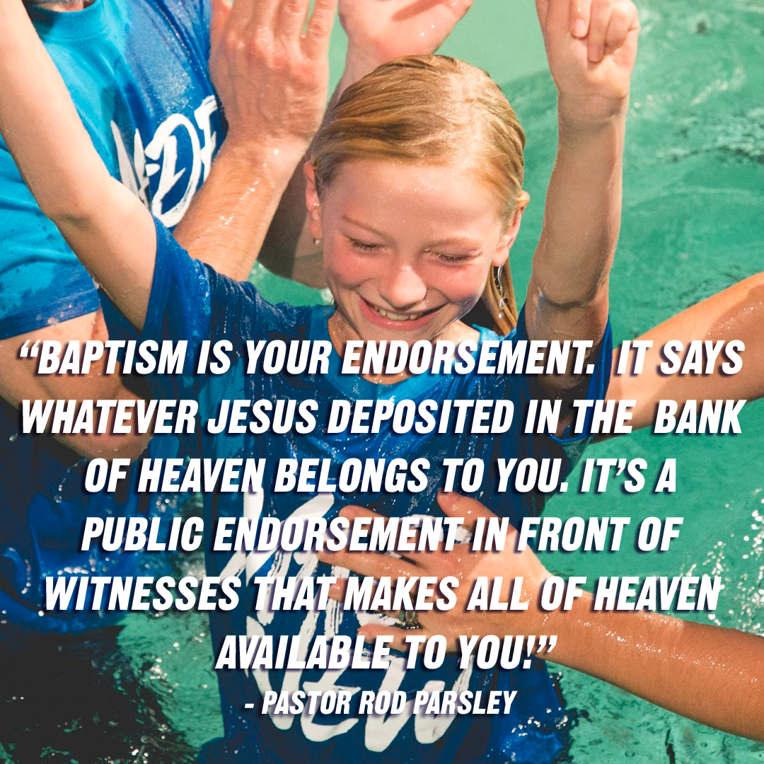 """Baptism's Divine Purpose"""