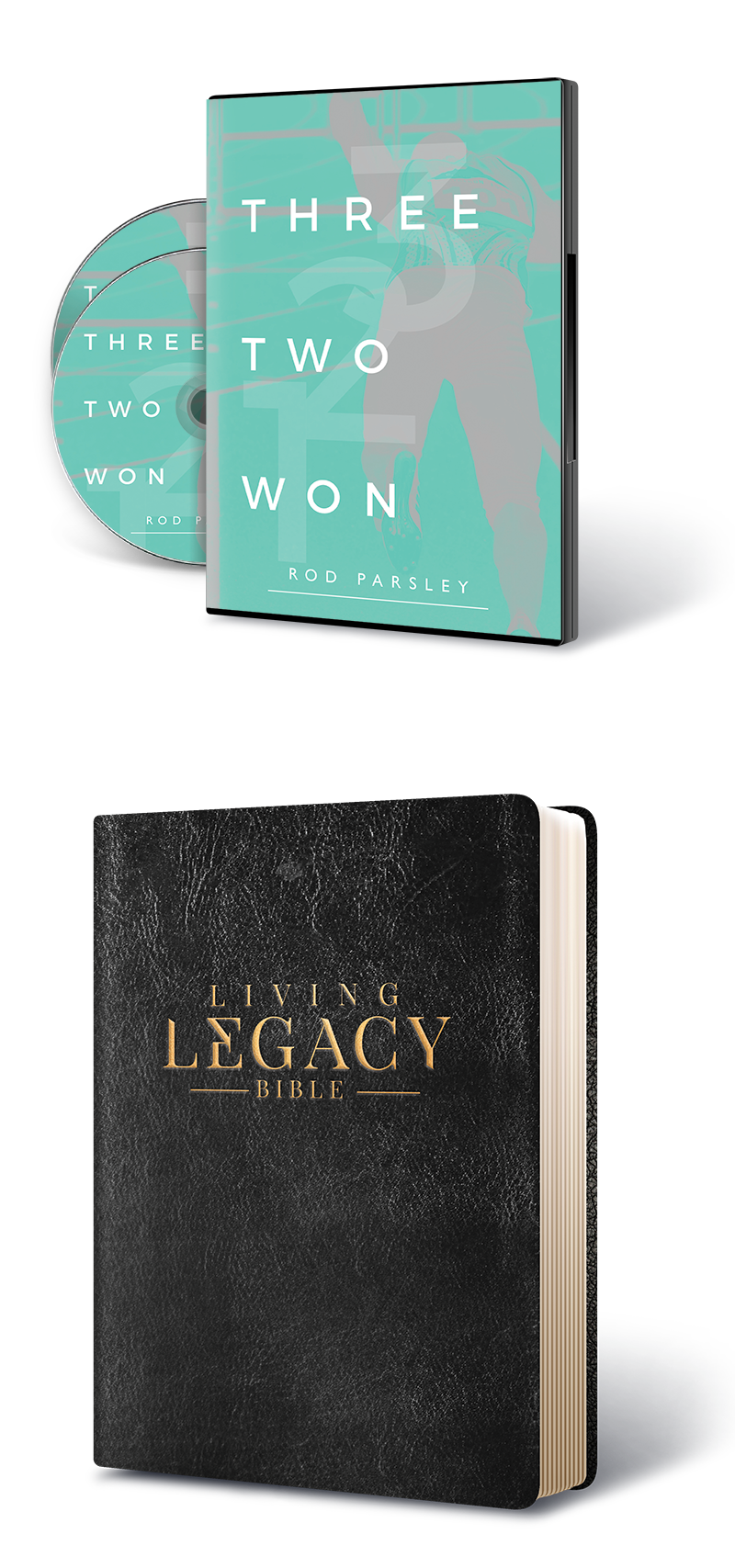 Living Legacy Bible and Three Two Won