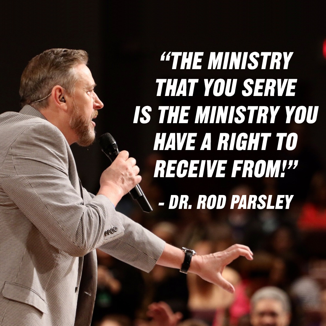 """A whole lot of Christians want the 'wealth of the wicked,' when God has yet to receive any of theirs!"" – Dr. Rod Parsley"