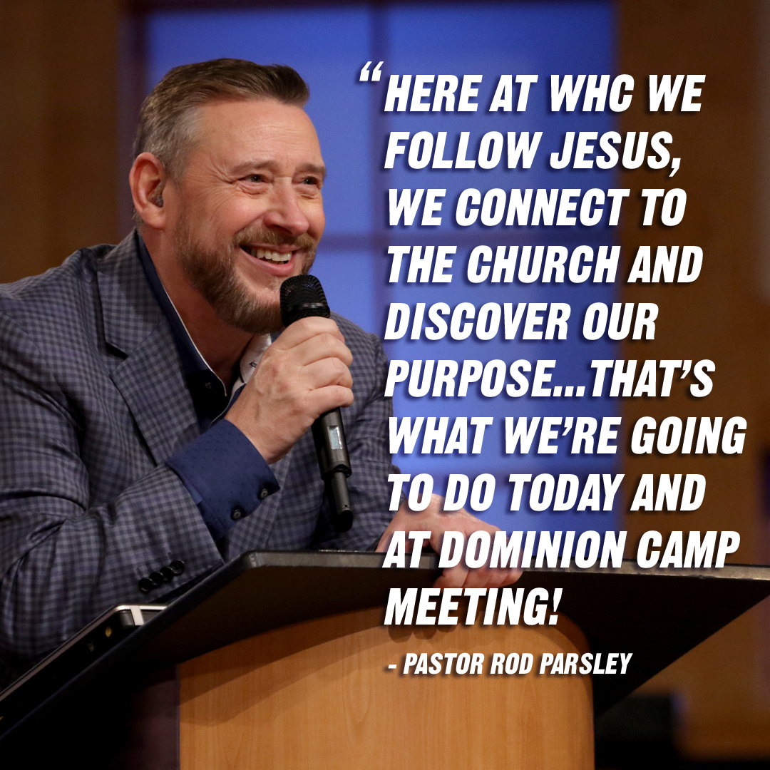 """To  be relevant means to be connected to the purpose…  What's relevant to the kingdom is Great Commission and the Great Commandment. "" – Pastor Rod Parsley"