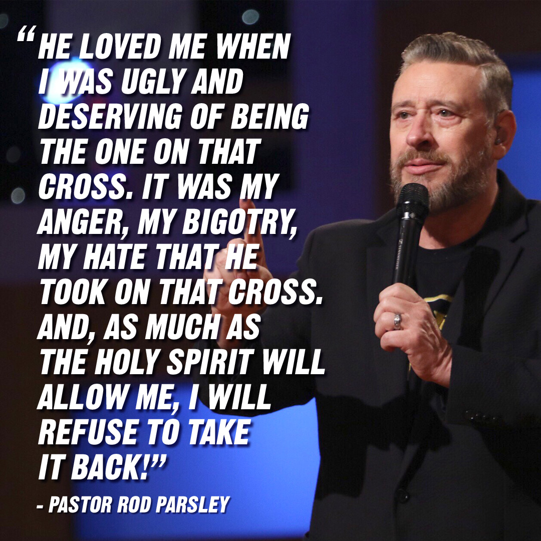 """Stop making excuses for yourself that you'd never allow for others."" – Pastor Rod Parsley"