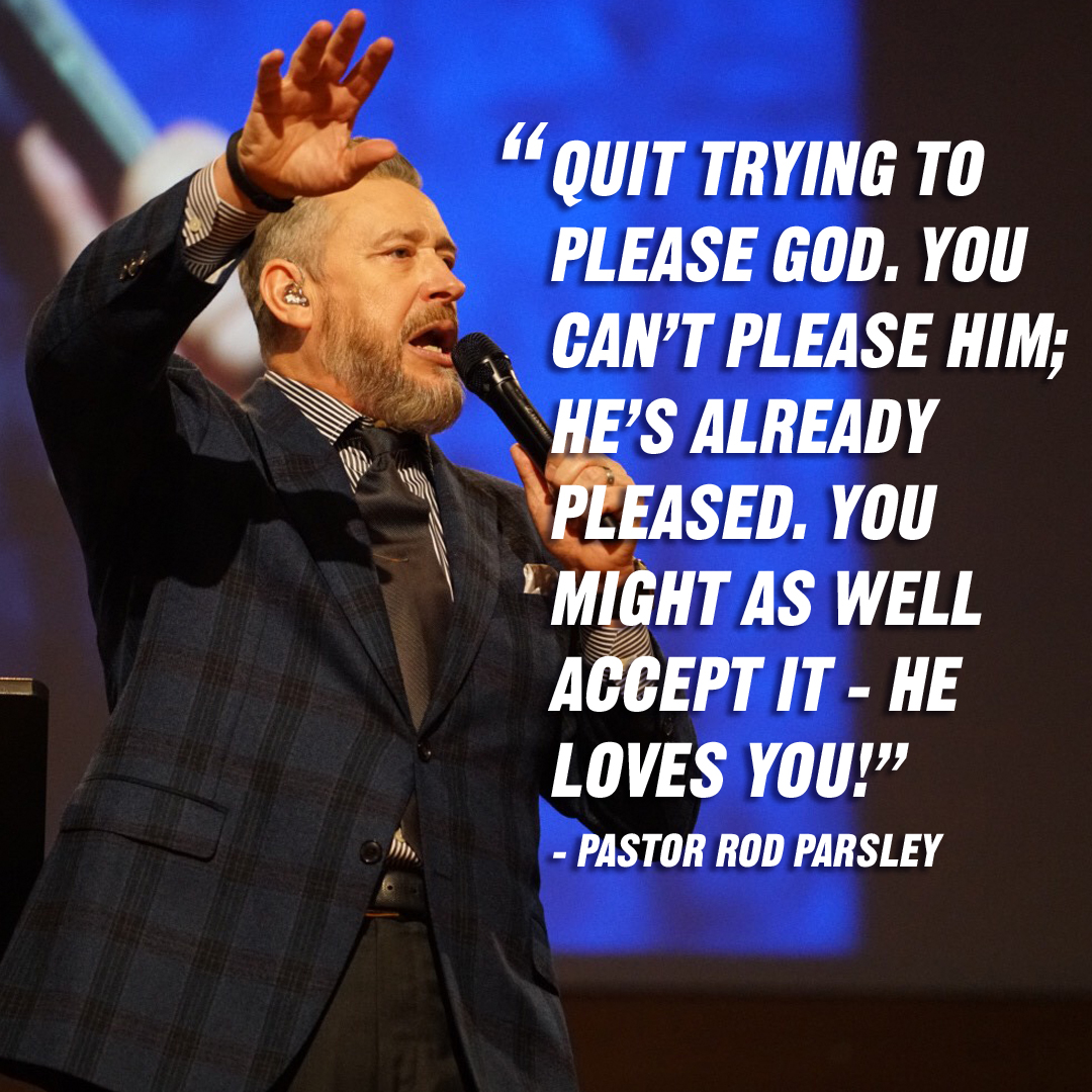 """The reason for God to give you power is to be a witness — someone who testifies of God's Truth, while the Truth is yet unseen!"" – Pastor Rod Parsley"